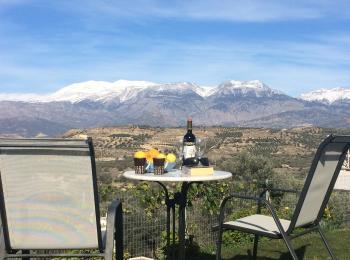 Villa Vouno / Traumpanorama Berge
